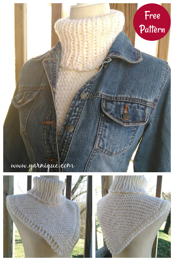 Cozy Dickey Free Knitting Pattern