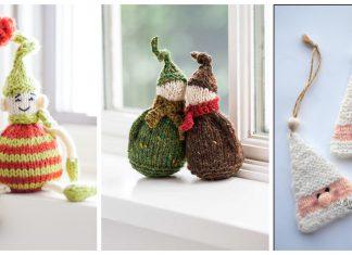 Elf Ornament Knitting Patterns