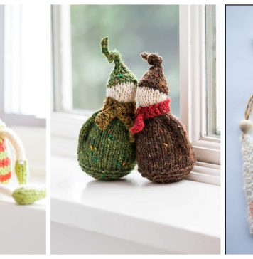 Elf Ornament Knitting Patterns