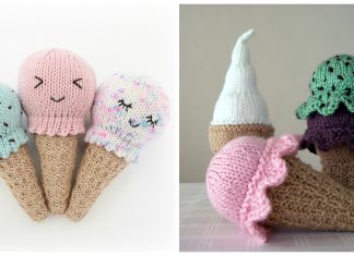 Ice Cream Free Knitting Pattern