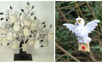Owl Ornament Knitting Patterns