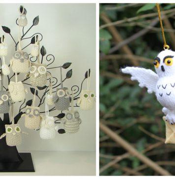 Owl Ornament Knitting Patterns