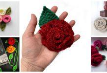 Pretty Rose Knitting Patterns