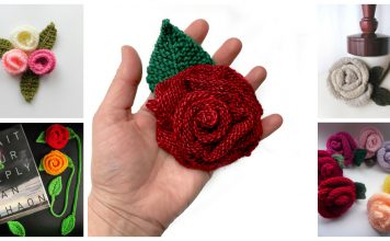 Pretty Rose Knitting Patterns