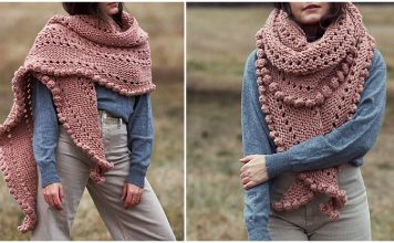 Romance Wrap Free Knitting Pattern