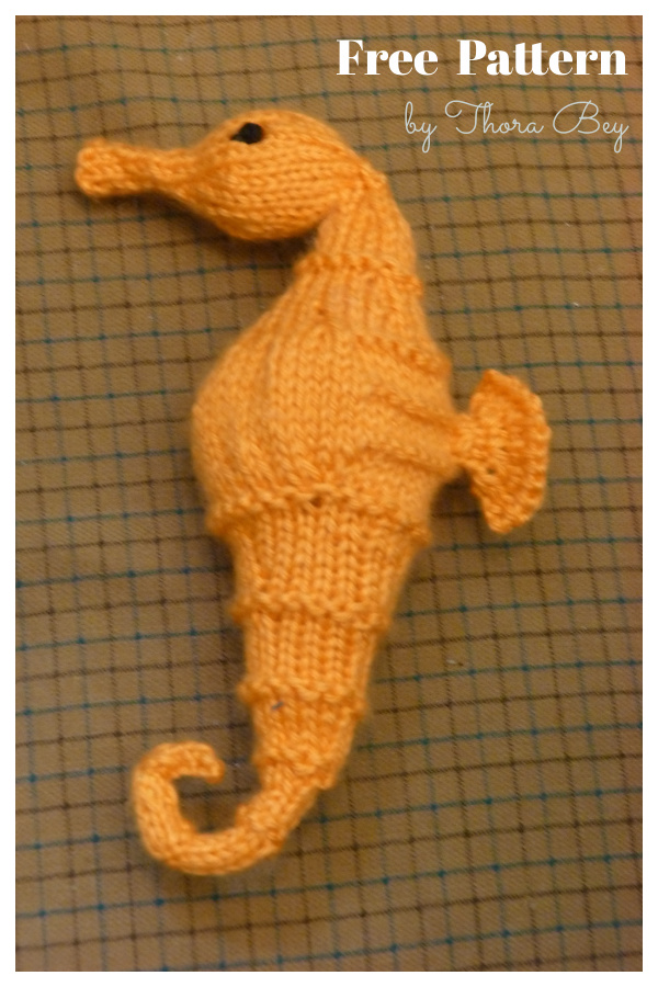 Seahorse Softie Free Knitting Pattern