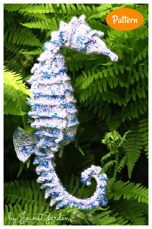 Secretive Seahorse Knitting Pattern