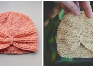 Turban Hat Knitting Patterns
