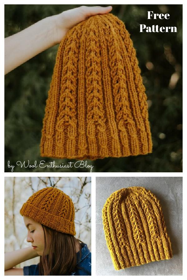 Winchell Hat Free Knitting Pattern