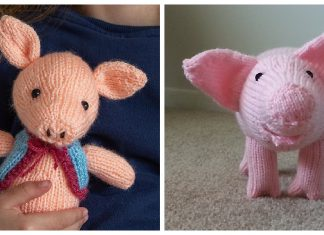Amigurumi Pig Free Knitting Patterns