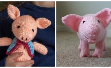 Amigurumi Pig Free Knitting Patterns