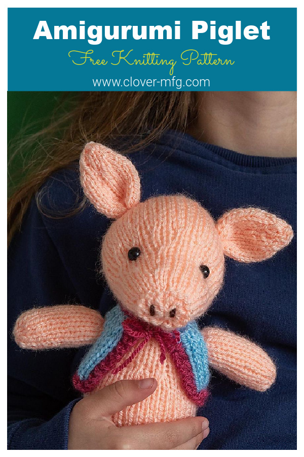 Amigurumi Piglet Free Knitting Pattern