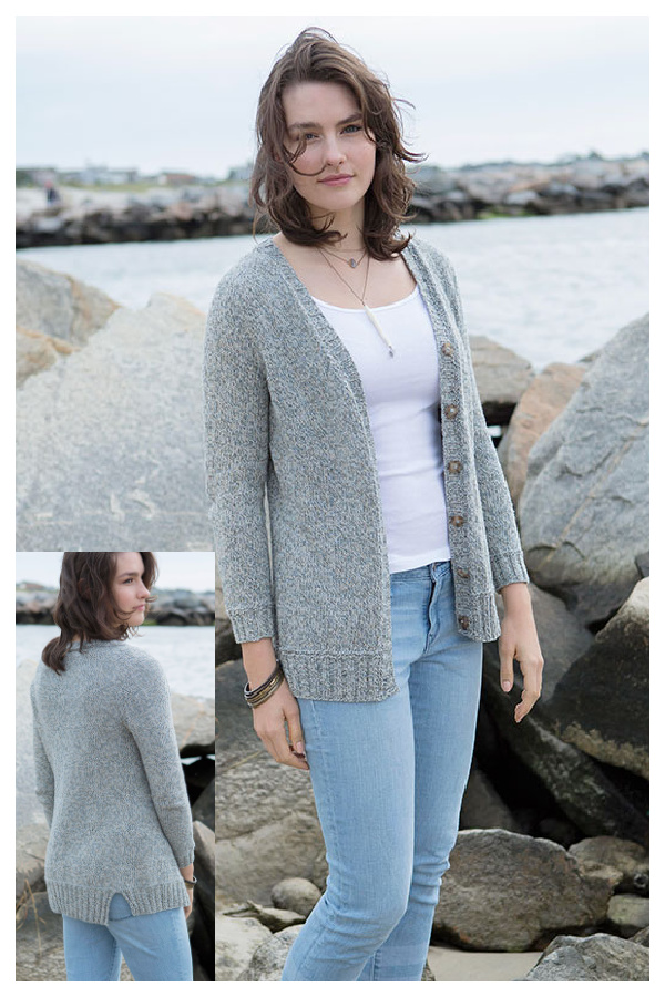 Bly Cardigan Free Knitting Pattern