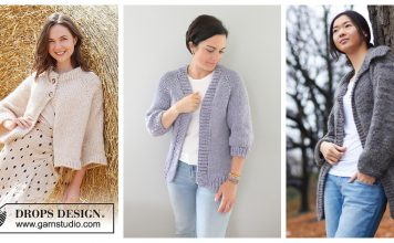 Easy Stay Home Cardigan Free Knitting Pattern