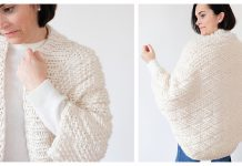 Embarker Cocoon Cardigan Free Knitting Pattern