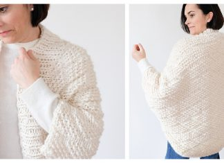 Embarker Cocoon Cardigan Free Knitting Pattern