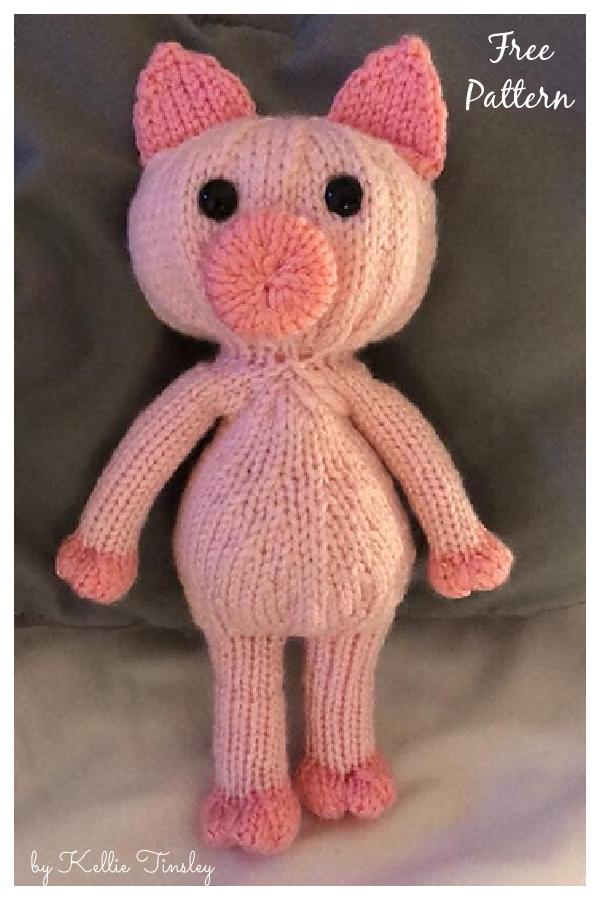 Gianna's Pig Free Knitting Pattern