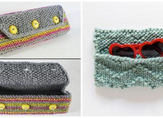 Glasses Case Free Knitting Pattern