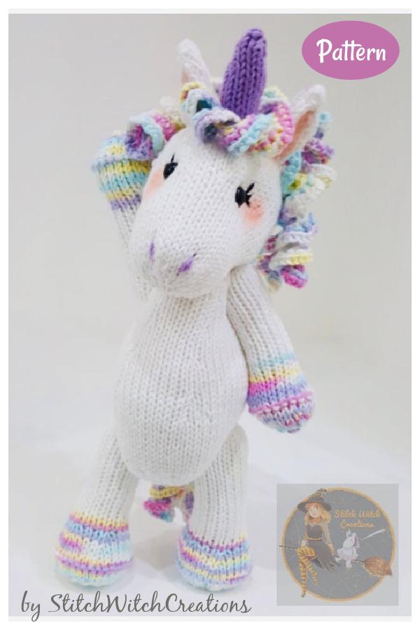 LARNA the Unicorn Knitting Pattern