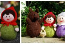 Little Red Riding Hood Doll Free Knitting Pattern