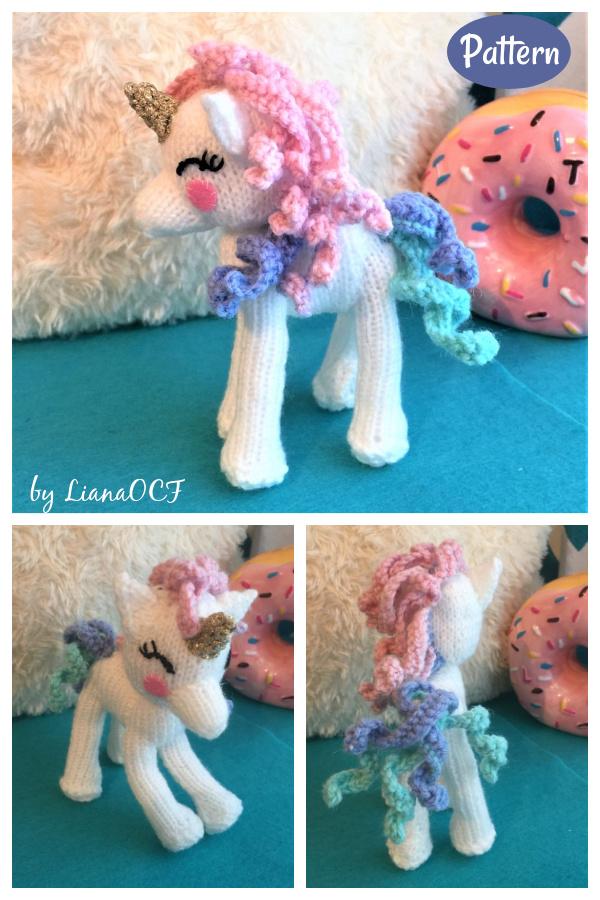Little Unicorn Knitting Pattern