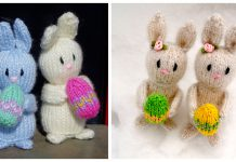 Mini Easter Bunny Free Knitting Pattern