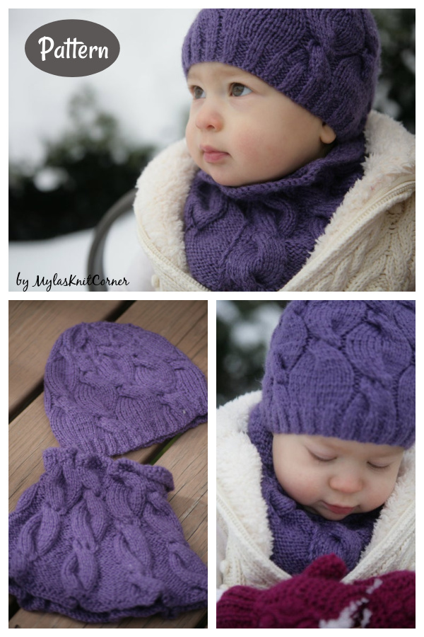 My Must Set Cowl and Hat Knitting Pattern