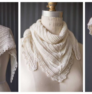 Seashore Scarf Free Knitting Pattern