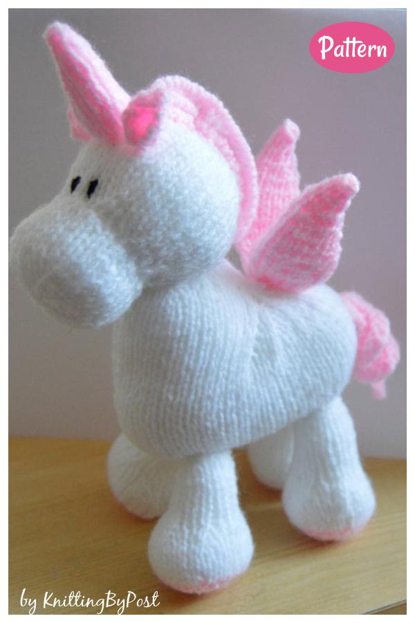 Stardust the Unicorn Knitting Pattern