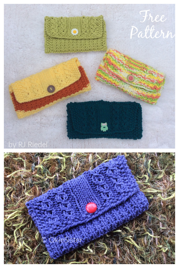 Sunglass Case Free Knitting Pattern