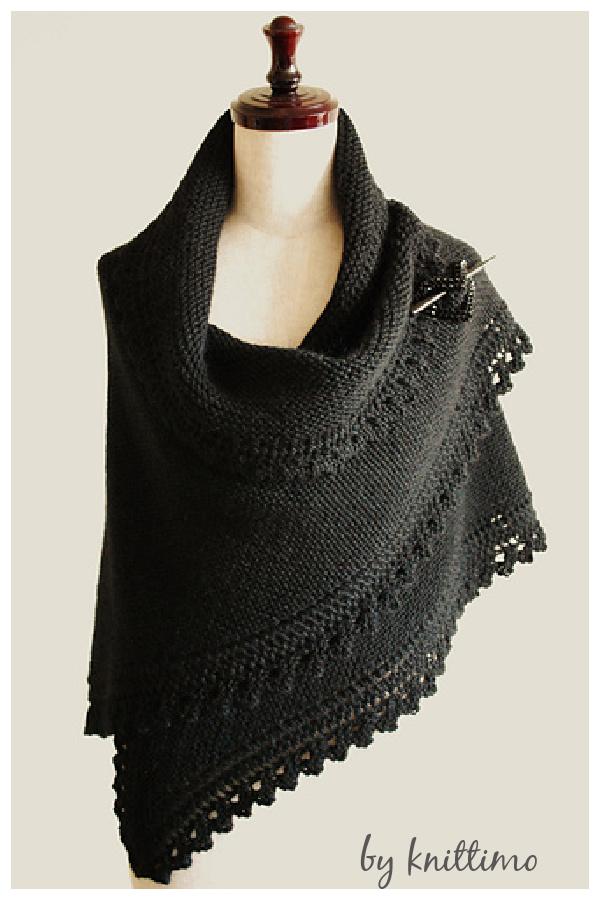 Truly Tasha's Shawl Free Knitting Pattern