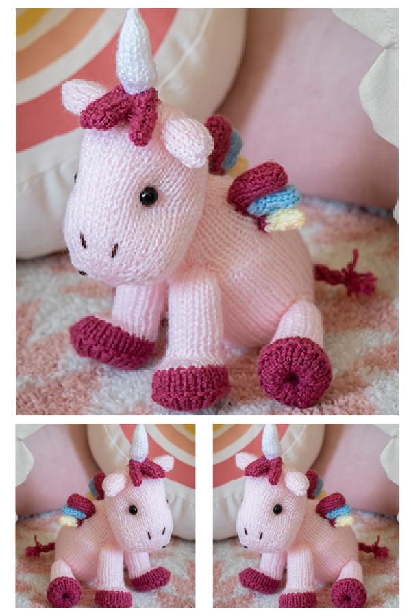Unicorn Free Knitting Pattern