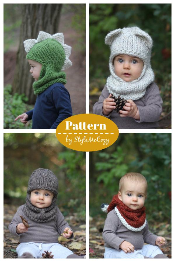 Balaclava Hat Knitting Pattern