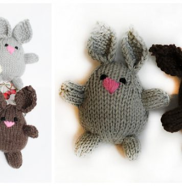 Bunny Buddies Free Knitting Pattern