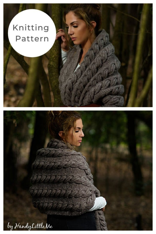 Cable Wrap Knitting Pattern