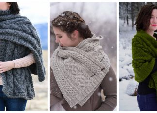 Cable Wrap Knitting Patterns