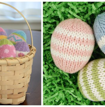 Easter Egg Free Knitting Pattern