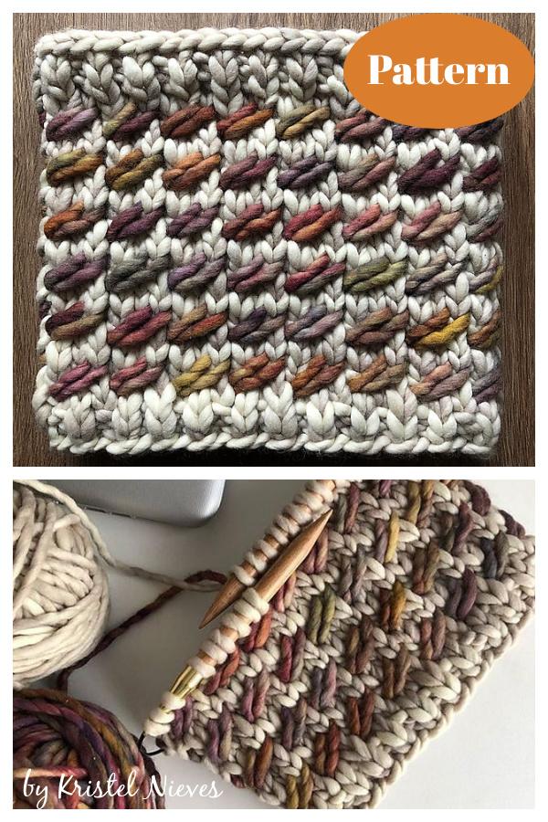 Lara Cowl Knitting Pattern