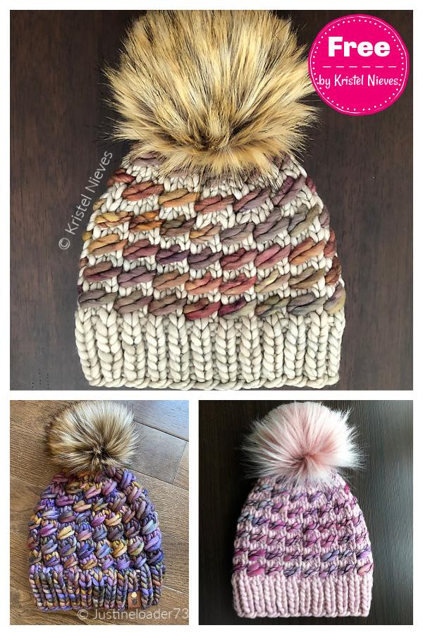 Lara Hat Free Knitting Pattern