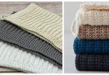 Simple Dish Towel Free Knitting Patterns