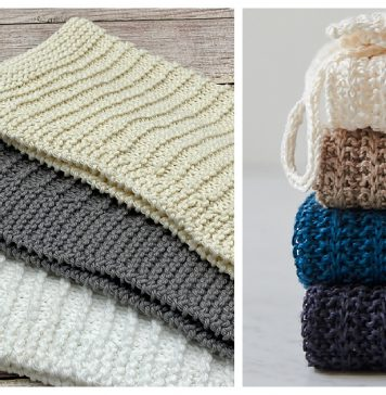 Simple Dish Towel Free Knitting Patterns