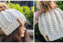 Spikelet Bulky Hat Free Knitting Pattern