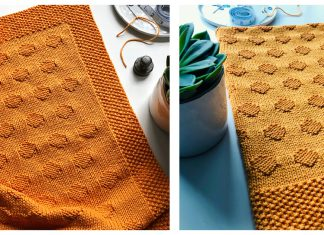 Take a Sunrise Blanket Free Knitting Pattern