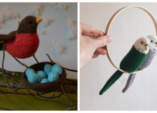 Bird Knitting Patterns