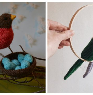 Bird Knitting Patterns