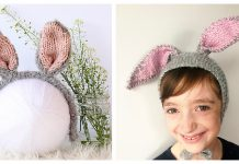 Bunny Ears Headband Free Knitting Pattern