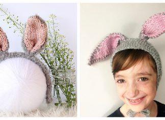 Bunny Ears Headband Free Knitting Pattern