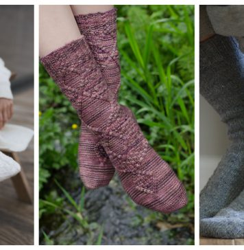 Cable Socks Free Knitting Patterns