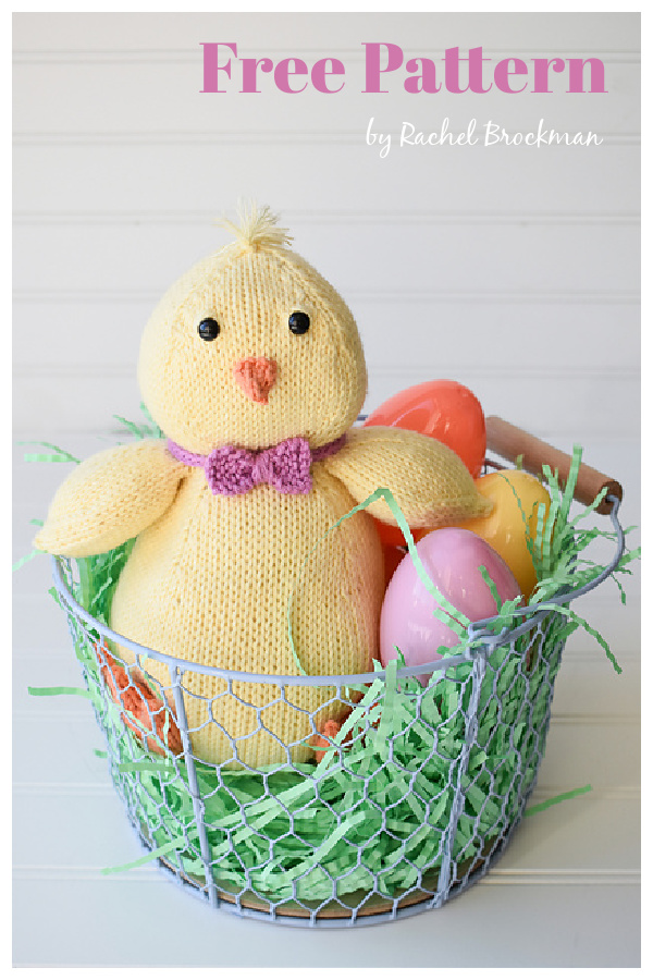 Easter Earl Adorable Chick Free Knitting Pattern