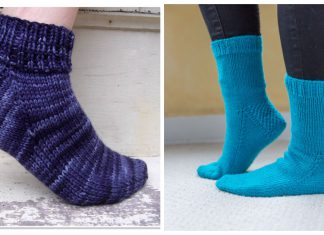 Easy Sock Free Knitting Patterns